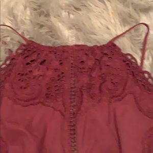 American Eagle Outfitters Other - Burgundy Romper